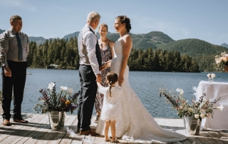 Photo of a micro wedding in Vancouver